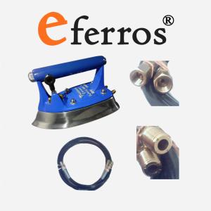 Ferro a vapor industrial aquecido por circulação de vapor minimax eferros